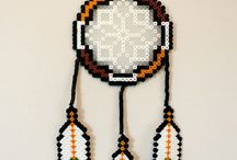 dreamcatcher, hama beads