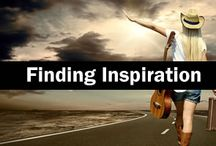 Finding Inspiration / Find inspiration for your next big hit with these articles on the SongCast Blog: http://blog.songcastmusic.com/category/inspiration/