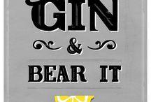 Gin / by Amanda Taft