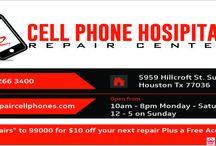 iPhone cracked Screen Repair Houston