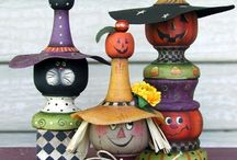 painted halloween / by Sharon Cook
