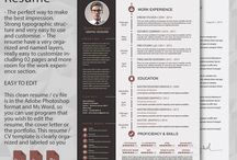 Resume / Resume  - The perfect way to make the best impression. Strong typographic structure and very easy to use and customise. – The resume have a very organized and named layers, really easy to customize including 02 pages and more room for the work experience section.   Download here : http://graphicriver.net/item/resume/9714470  www.graphicstoll.com