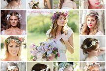 Svadobné účesy / Wedding hairstyle / svadobné účesy, svadba, wedding, wedding hairstyle, bride
