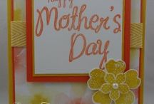 Cards for Mom / Stampin' Up! cards for Mom, Mother's Day, Birthday, Congrats, Thanks, Thinking of You, handmade cards, paper crafting, rubberstamping, thestampcamp, glendasblog