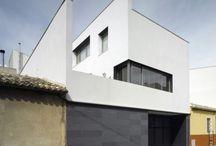 Fachadas de viviendas