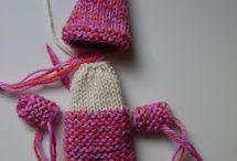 hračky pletené háčkované