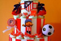Tartas de pañales equipos de fútbol / Conoce nuestros nuevos modelos de Tartas de pañales equipos de fútbol