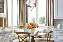 *Interiors* Kitchen and Breakfast area