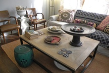 Ethnic, Vintage, Eclectic Interiors / Including Rustic, Rural, Bohemian and Cottage Interiors / by Susan Garnett