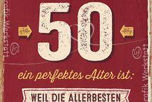 50. Geburtstag Ideen