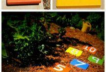 Zahrada a napady pro deti