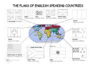 English speaking world