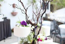 Rustic/Forest Wedding Cakes