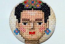 Frida keresztszemes