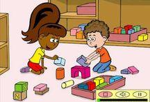 Thema: Naar school (kleuters) / Lesideeën voor het thema de school.