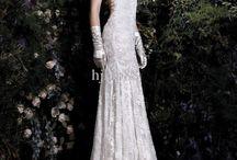 Wedding dress mermaid lace