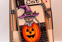Halloween cards / by Alice Sebring