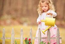 dzieci - wiosna