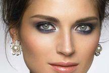 grey makeup - silver / idea sposa makeup