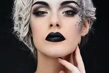 dark queen make-up ideas / by Sasheen Montano