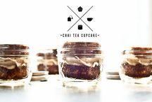 Cakes in jar