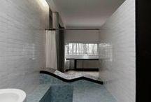 Architectes dans le toilette