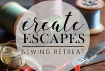 Create Escapes Sewing Retreat