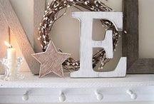 Décorations de Noël / Inspiration  pour mes décorations de Noël !!!