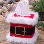 santa Kleenex box