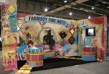 Trade Show Booths / Booth design inspiration for trade, art and craft shows