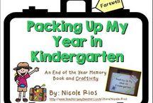 End of the Year Kindergarten