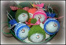 Christmas Ornaments  / by Missy Schaper