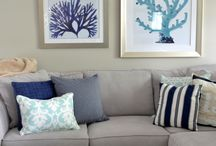 Coastal interior inspiration / Inspiration for my playroom based on coastal/nautical theme