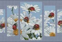 Kwiaty / Haft
