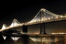 Architecture bridge lighting
