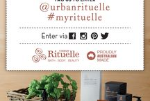 #myrituelle / WIN a $50 Urban Rituelle voucher!  Simply share a photo, write a review on Urban Rituelle or tell us about your favourite ritual & tag @urbanrituelle & #myrituelle in your post to go in the draw to win!   We can't wait to hear from you! Team UR xx   Visit: www.urbanrituelle.com.au/articles/get-social-to-win for more details.  / by Urban Rituelle