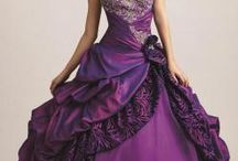 Pretty purple dresses / by Nancy Violette