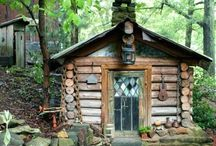Cabins in The WOODS! / by Camptontrails