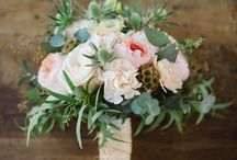 Rustic Wedding / Rustic Theme Wedding flowers, woodsy, country glam, greenery, burlap, classic wedding, summer wedding decor, nature, bark, pine, birch, moss