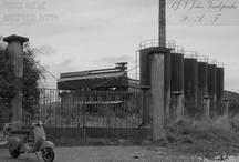 old factory scraper Greece