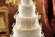 Chandelier cakes / Any cake that is hanging from something
