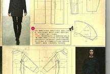 Ceket/Manto Model kalıbı