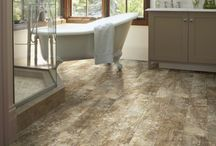 Vinyl / Vinyl is in! Check out these luxury vinyl tiles and planks.