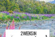 Australia & New Zealand Travel / Travel tips, guide, itinerary for Australia and New Zealand travel
