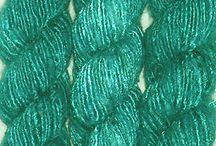 silk yarn project