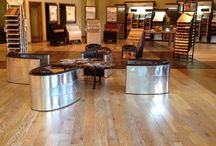 Emerson Hardwood Portland, OR / Images and new product displays at Emerson Hardwood in Portland, OR