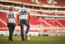 Pre wedding futebol