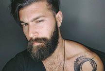 Beard and hairs