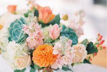Wedding Center Piece & Flowers