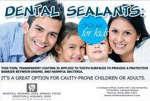 Sealants and Fluoride